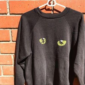 Other - Vtg '81 CATS Broadway Musical 2-Sided Sweater